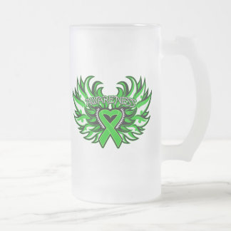 Organ Donor Awareness Heart Wings Coffee Mug