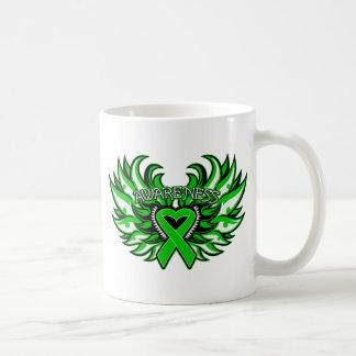 Organ Donor Awareness Heart Wings Coffee Mugs