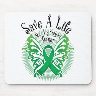 Organ Donor Butterfly 3 Mousepads