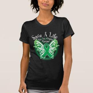 Organ Donor Butterfly 3 T-Shirt