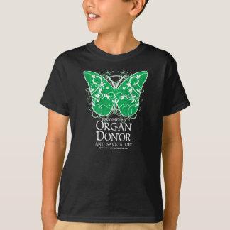 Organ Donor Butterfly T-Shirt