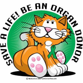 Organ Donor Cat Cutout