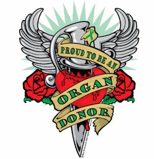 Organ Donor Dagger Statuette