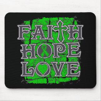 Organ Donor Faith Hope Love Mouse Pad