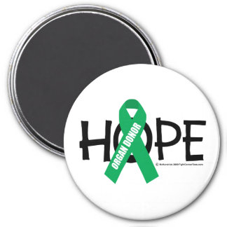 Organ Donor Hope Fridge Magnets