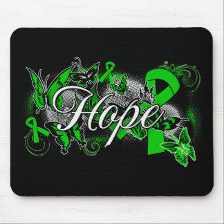 Organ Donor Hope Garden Ribbon Mouse Pad