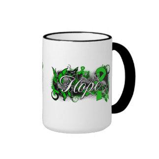 Organ Donor Hope Garden Ribbon Coffee Mug