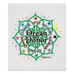 Organ Donor Lotus Poster