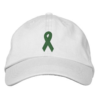 Organ Donor Ribbon Embroidered Hat