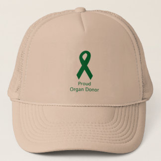 Organ Donor Ribbon Trucker Hat