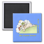 Organ Donor Thanks 2 Inch Square Magnet