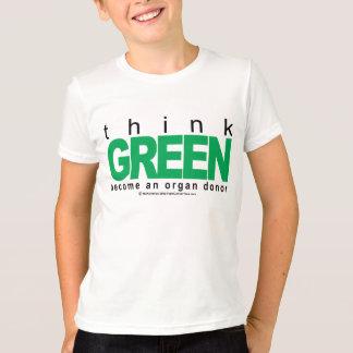 Organ Donor THINK Green T-Shirt