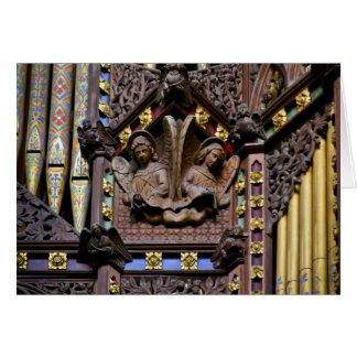 Organ, Ely Cathedral, UK  greeting card