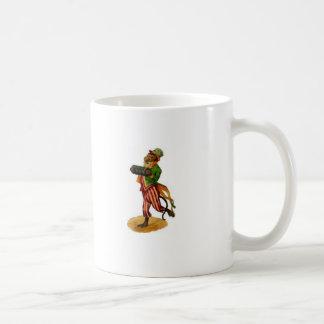 organ grinder monkey, I am just a dancing monke... Classic White Coffee Mug