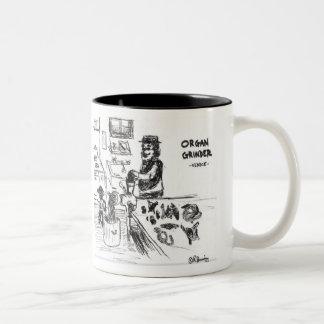 ORGAN GRINDER mug