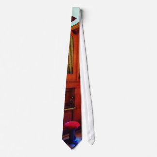 Organ in Church Neck Tie