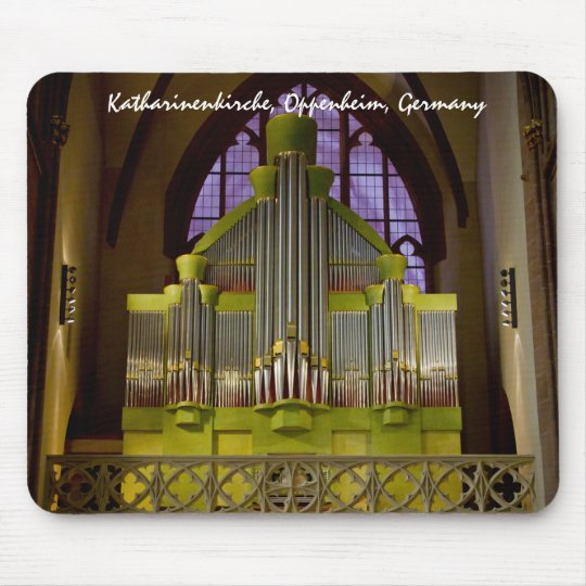 Organ in Oppenheim, Germany Mouse Pad