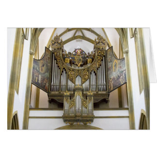 Organ in St Ulrica and St Afra, Augsburg Card