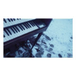 Organ in the Snow Posters