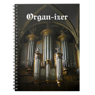 Organ-izer notebook