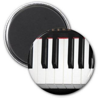 Organ Keyboard 2 Inch Round Magnet