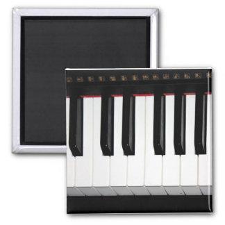 Organ Keyboard 2 Inch Square Magnet