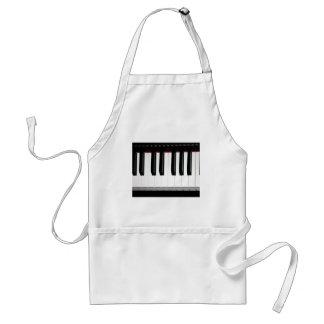 Organ Keyboard Adult Apron