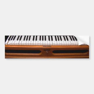 Organ keyboard bumper sticker