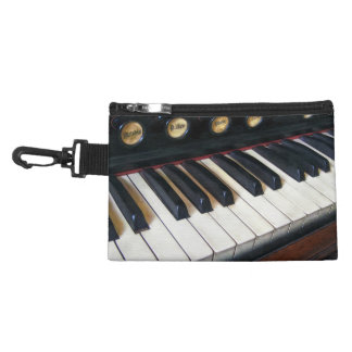 Organ Keyboard Closeup Accessory Bag
