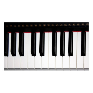 Organ Keyboard Double-Sided Standard Business Cards (Pack Of 100)