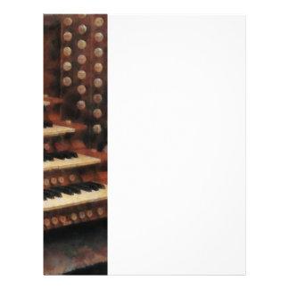 Organ Keyboard Flyer