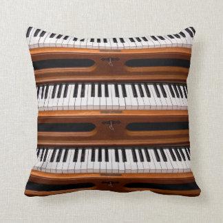 Organ keyboard pillow
