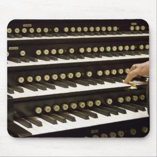 Organ manuals mousepad