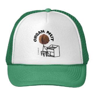 Organ Nut Trucker Hat