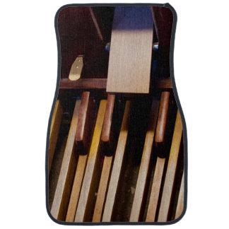 Organ pedals car mat