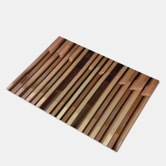 Organ pedals doormat