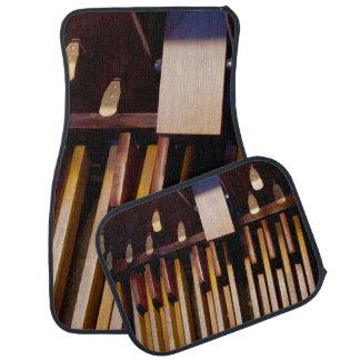 Organ pedals full set of mats car mat