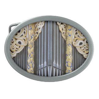 organ pipes belt buckle