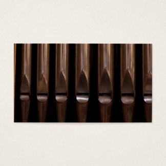 Organ pipes business card