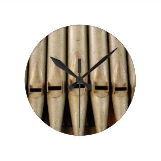 Organ Pipes Clock