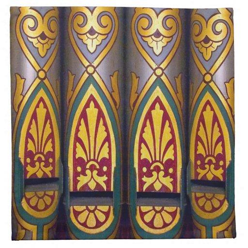 organ pipes cloth napkins