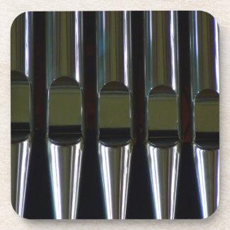 Organ Pipes Detail Beverage Coaster