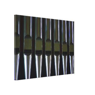 Organ Pipes Detail Canvas Print