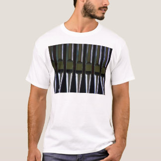 Organ Pipes Detail T-Shirt