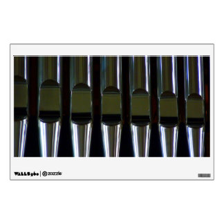 Organ Pipes Detail Wall Stickers