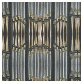 Organ pipes fabric