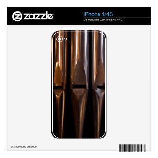 Organ pipes iPhone 4S skin