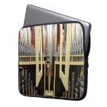 Organ pipes laptop sleeve