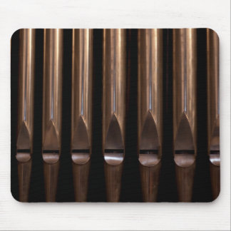 Organ pipes mouse pad