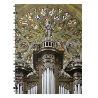 Organ pipes notebook